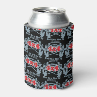 Mud Up or Shut Up 4x4 Off Road Can Cooler