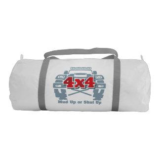 Mud Up or Shut Up 4x4 Off Road Gym Duffel Bag