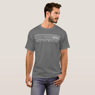 Muddy Creek Farms Logo T-Shirt