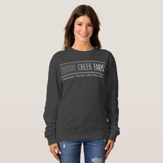 Muddy Creek Farms Logo Women's Sweatshirt