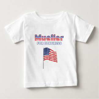 Mueller for Congress Patriotic American Flag Baby T-Shirt