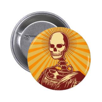 Muerta Lisa 6 Cm Round Badge