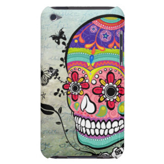 Muerte Day of the Dead Sugar Skull Artistic Case Barely There iPod Case