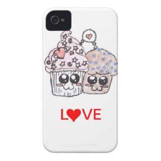 muffin and cupcake love forever iphone 4 case