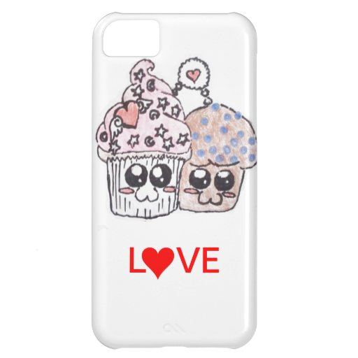 muffin and cupcake love forever iphone 5 case