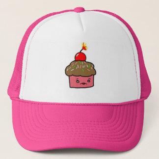 muffin bomb trucker hat