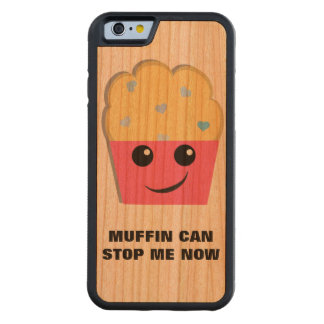 Muffin Can Stop Me Cherry iPhone 6 Bumper Case