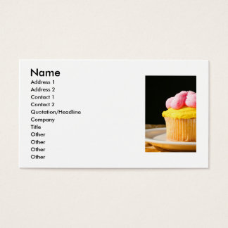 Muffin Close Up Business Card