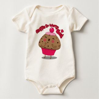 Muffin to Worry About Baby Bodysuit