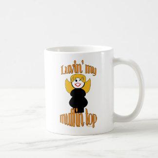 Muffin Top Fun Diet Humor Basic White Mug