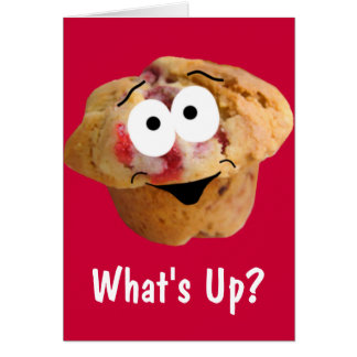 Muffin What's Up Anytime Card