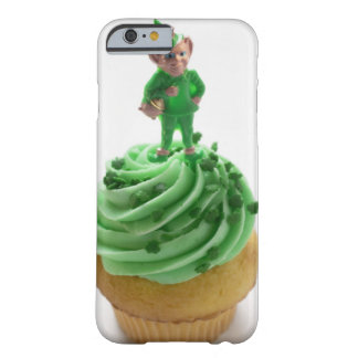 Muffin with green cream for St Patrick s Day iPhone 6 Case