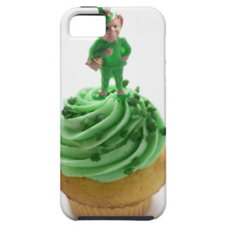 Muffin with green cream for St. Patrick's Day iPhone 5 Cover