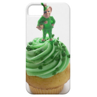 Muffin with green cream for St. Patrick's Day iPhone 5 Covers