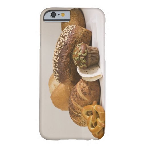 Muffins and dinner rolls iPhone 6 case