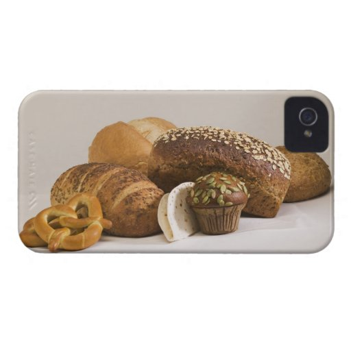 Muffins and dinner rolls iPhone 4 case