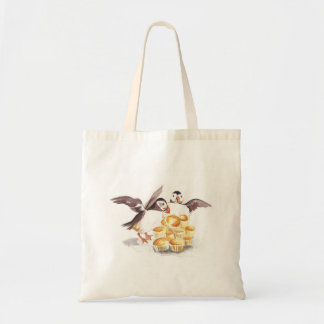 Muffins for Puffins Tote Bag