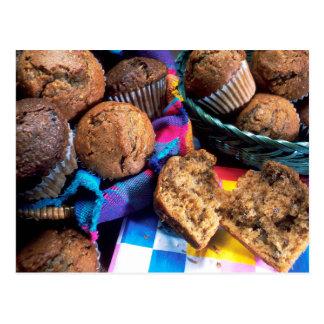 Muffins Postcard
