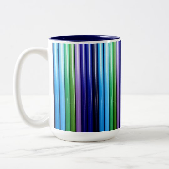 Mug - 055 - Blue and Green Shades