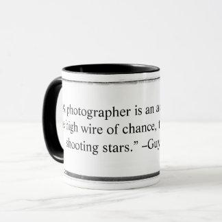 Mug A photographer is an acrobat quote Querrec
