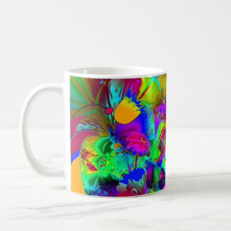 Mug Abstract Art Floral Explode