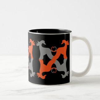 Mug Afghan hound