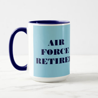 Mug Air Force Retiree
