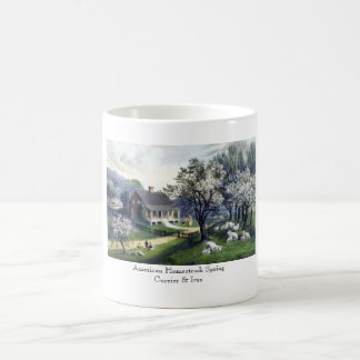 Mug: American Homestead: Spring Coffee Mug