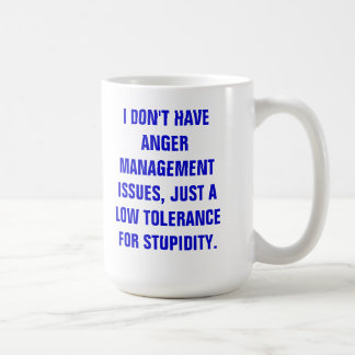 MUG-ANGER MANAGEMENT COFFEE MUG