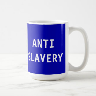 Mug Anti Slavery Blue