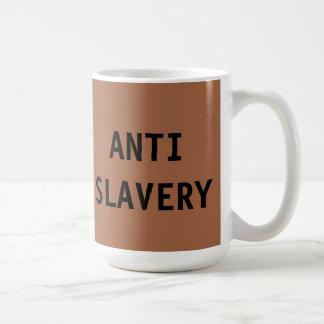 Mug Anti Slavery Brown