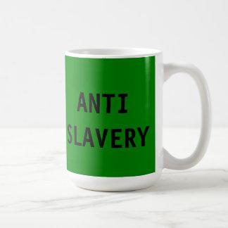 Mug Anti Slavery Green