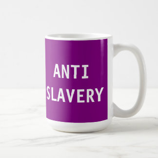Mug Anti Slavery Purple