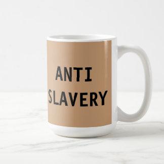 Mug Anti Slavery Tan