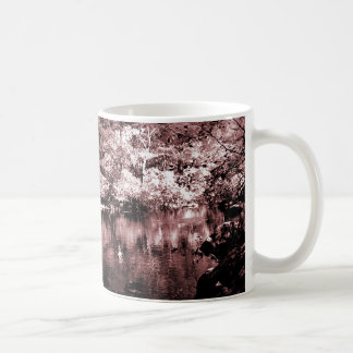 Mug - Autumn Stream - Brown Halftone