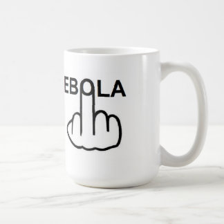Mug Bird Flipping Blast Ebola