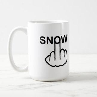 Mug Bird Flipping Snow Flip