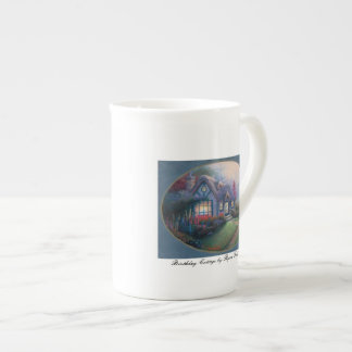 Mug BIRTHDAY COTTAGE bone china