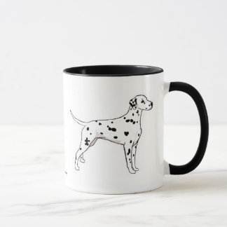 Mug: Black-Spotted Dalmatian Mug