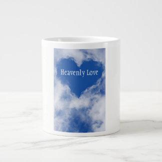 Mug (Bone China) Heavenly Love Blue Heart