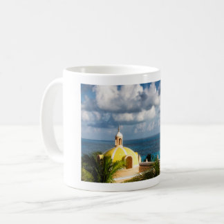 Mug - Cancun Yellow Dome after Sunrise - Mexico