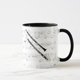 Mug - Clarinets with sheet music