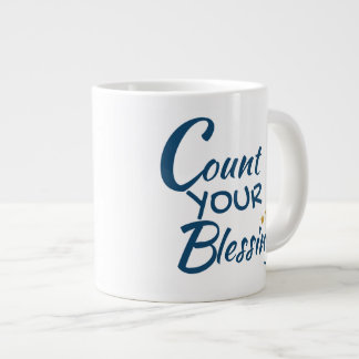 Mug - coffee or tea - Count Your Blessings