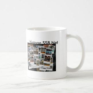 mug_collage, mug_gkzcollage, Vintage SSB Net, V... Basic White Mug