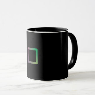 "Mug Colorful Geometry ""Square """