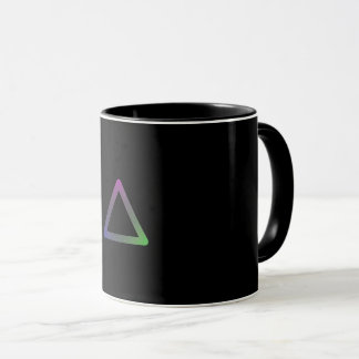 "Mug Colorful Geometry ""Triangle """