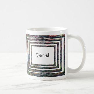 Mug - Concentric Frames with Name