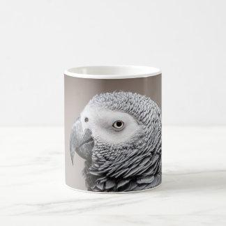 Mug Congo African Grey Gray Parrot