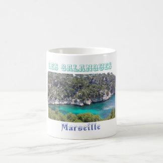 """mug """"Creeks"""" of Marseilles France"""
