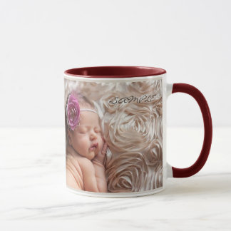 Mug Custom Photo Baby Picture Announcement Mugs